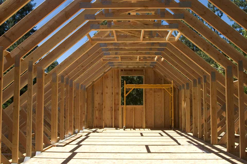 Our trusses are suitable for a wide range of roof structures and building types...